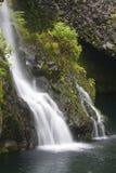 Beautiful Maui Waterfall stock images