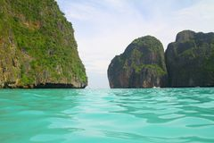 Beautiful Maya Bay - Koh Phi Phi le - Thailand Stock Image