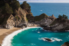 Beautiful McWay Falls Landscape Royalty Free Stock Images