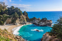 Beautiful McWay Falls Landscape Stock Images