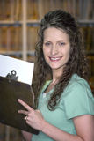 Beautiful Medical Assistant royalty free stock photography