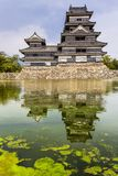 Beautiful medieval castle Matsumoto  Stock Images