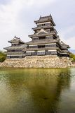 Beautiful medieval castle Matsumoto   Royalty Free Stock Image