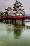 Beautiful medieval castle Matsumoto   Royalty Free Stock Photos
