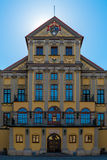 A beautiful medieval palace in Nesvizh Royalty Free Stock Images