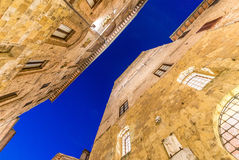 Beautiful medieval streets of San Gimignano, Italy Royalty Free Stock Image