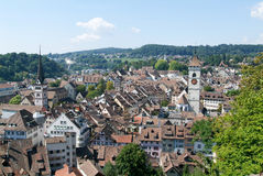 The beautiful medieval town of Schaffhausen Royalty Free Stock Photography