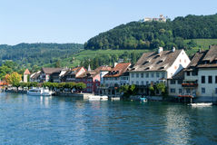 The beautiful medieval town of Stein am Rhein Stock Image