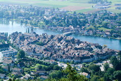 The beautiful medieval town of Stein am Rhein Stock Photography