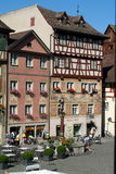 The beautiful medieval town of Stein am Rhein on Switzerland Royalty Free Stock Image