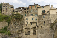 Beautiful medieval villages Dolceaqua Stock Photo