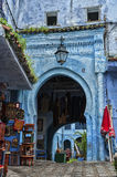 The beautiful medina of Chefchaouen, Morocco. The beautiful medina of Chefchaouen, the blue pearl of Morocco Royalty Free Stock Photo