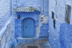 The beautiful medina of Chefchaouen, Morocco. The beautiful medina of Chefchaouen, the blue pearl of Morocco Royalty Free Stock Photos