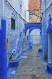 The beautiful medina of Chefchaouen, Morocco. The beautiful medina of Chefchaouen, the blue pearl of Morocco Stock Images