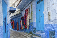 The beautiful medina of Chefchaouen, Morocco. The beautiful medina of Chefchaouen, the blue pearl of Morocco Royalty Free Stock Image
