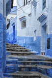 The beautiful medina of Chefchaouen, Morocco. The beautiful medina of Chefchaouen, the blue pearl of Morocco Stock Image