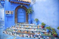 The beautiful medina of Chefchaouen, Morocco Stock Photo