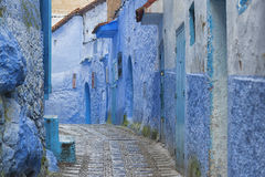 The beautiful medina of Chefchaouen, Morocco Stock Photography