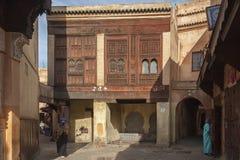 The beautiful medina of Meknes. Morocco Royalty Free Stock Photos