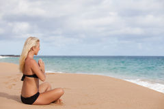 Beautiful Meditation Royalty Free Stock Photography