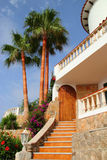 Beautiful mediterranean house Stock Image