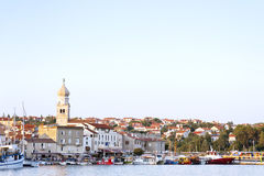 Beautiful mediterranean Krk Island Croatia Royalty Free Stock Photography
