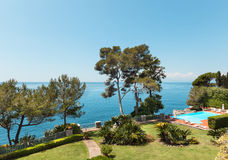 Beautiful mediterranean landscape Stock Photography