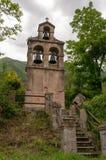 Beautiful mediterranean landscape - town Tivat, Kotor bay Boka Kotorska , Montenegro.  stock photo