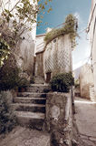 Beautiful mediterranean old vintage stairs Royalty Free Stock Photography