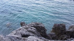 Beautiful Mediterranean sea stock footage