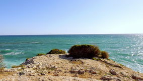 The beautiful mediterranean sea stock video