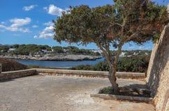 Beautiful Mediterranean seacoast on a sunny day in Spain, Europe. Beautiful Mediterranean seacoast on a warm, sunny day in Spain, Europe stock images
