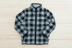 Beautiful men fashion fleece jacket Stock Photos