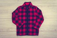 Beautiful men fashion fleece jacket Royalty Free Stock Image