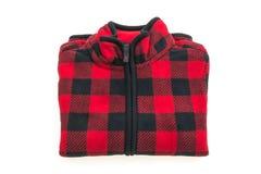 Beautiful men fashion fleece jacket Stock Photo