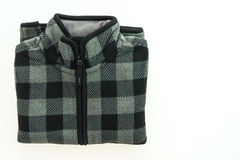 Beautiful men fashion fleece jacket Royalty Free Stock Photo