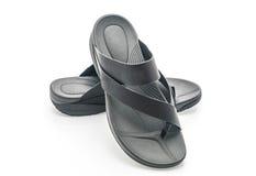 Beautiful men fashion sandal Royalty Free Stock Photography