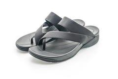 Beautiful men fashion sandal Stock Image