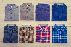 Beautiful men fashion shirt Royalty Free Stock Photo