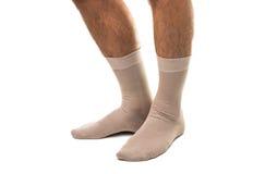 Beautiful men's socks Royalty Free Stock Photo