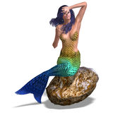 Beautiful mermaid Royalty Free Stock Photography