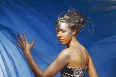Beautiful mermaid Stock Images
