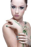 Beautiful mermaid girl Royalty Free Stock Image