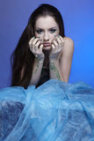 Beautiful mermaid girl Royalty Free Stock Photo