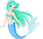 Beautiful mermaid Royalty Free Stock Images