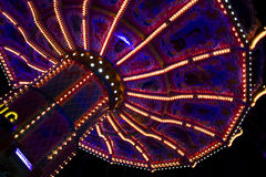 Beautiful merry-go-round at the Oktoberfest in Munich Royalty Free Stock Photo