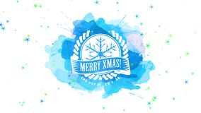 Beautiful merry xmas and happy new year design