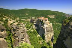 Beautiful meteora Royalty Free Stock Photography