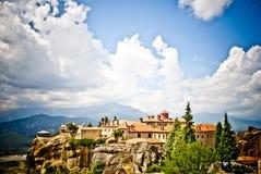 Beautiful Meteora from Greece Stock Photo