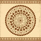 Beautiful Mexican ethnic ornament Royalty Free Stock Photo